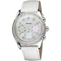 femme Accurist Chronograph Watch LS410W