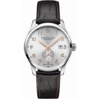 Hamilton Jazzmaster Small Second Herenhorloge Bruin H42515555