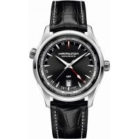 Mens Hamilton Jazzmaster GMT Automatic Watch