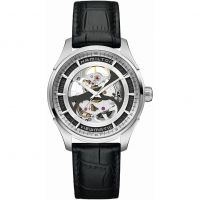 homme Hamilton Jazzmaster Viewmatic Skeleton Watch H42555751