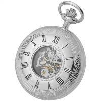 Woodford halb Hunter Skelett mechanisch Uhr