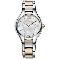 Damen Raymond Weil Noemia 32mm Diamant Uhr