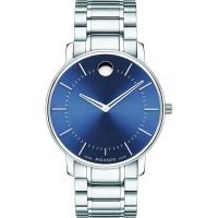homme Movado Thin Classic Watch 0606688