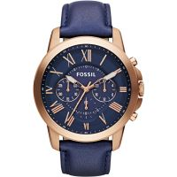homme Fossil Grant Chronograph Watch FS4835