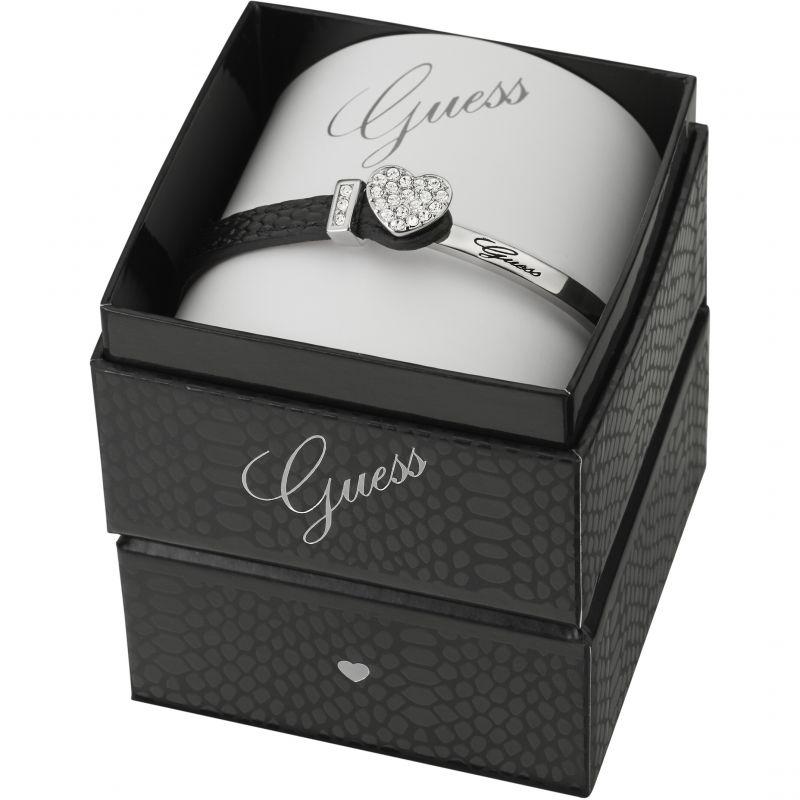 Ladies Guess Rhodium Plated Color Chic Bracelet Box Set UBS91307