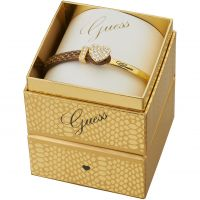 Guess Dam Color Chic Bracelet Box Set PVD guldpläterad UBS91310