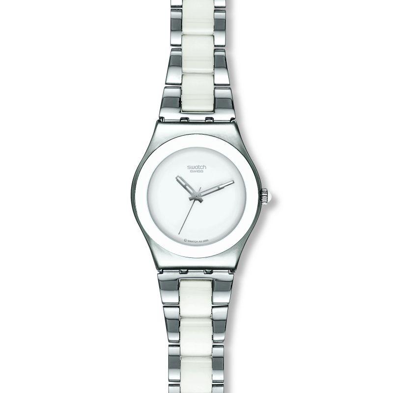 Damen Swatch Tresor Blanc Watch YLS141GC