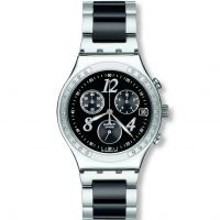 Damen Swatch Dreamnight Chronograph Watch YCS485GC