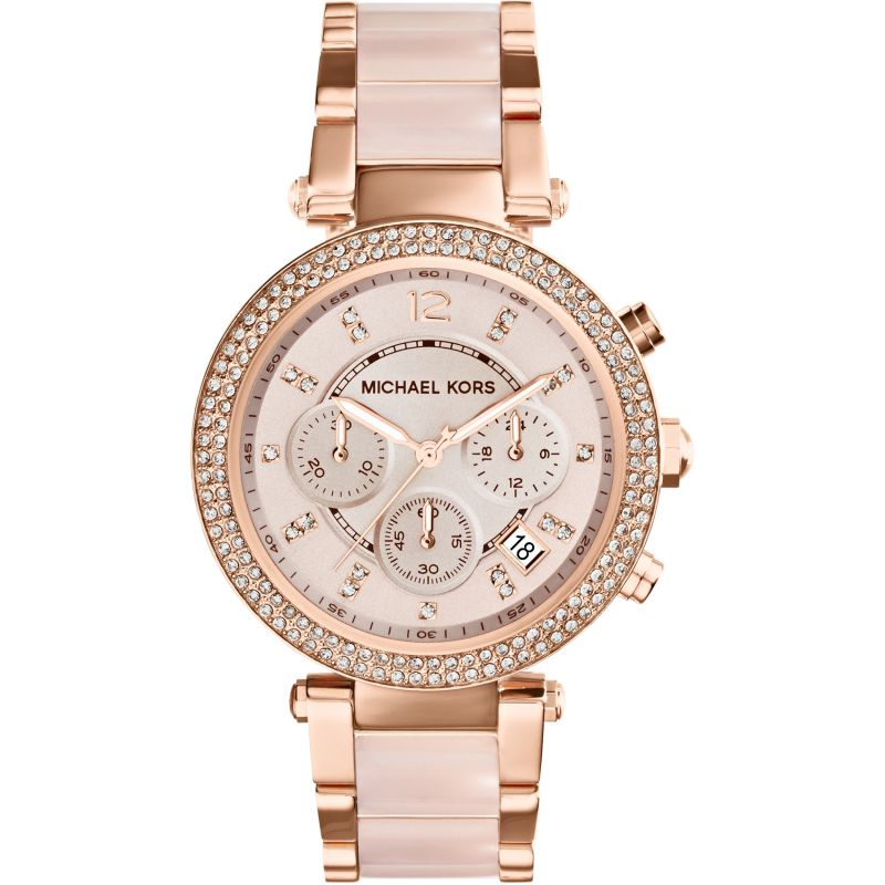 Ladies Michael Kors Parker Chronograph Watch MK5896