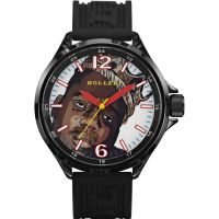 Holler Crazies - Biggie King Herenhorloge Zwart HLW2279-22