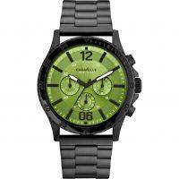 Herren Caravelle neu York Logan Chronograf Uhr