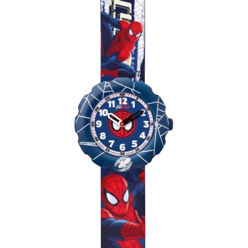 enfant Flik Flak Spider-Cycle Watch FLSP001