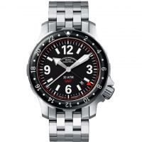 Mens Muhle Glashutte Marinus GMT Automatic Watch
