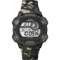 Herren Timex Indiglo Expedition Wecker Chronograf Uhr