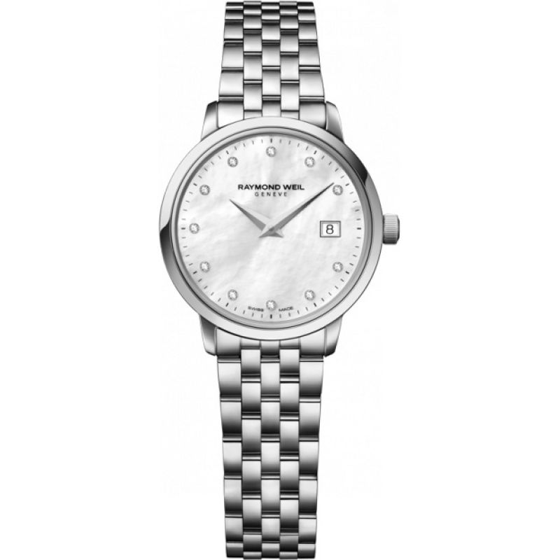 Ladies Raymond Weil Toccata Diamond Watch 5988-ST-97081