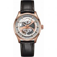 Mens Hamilton Jazzmaster Viewmatic Skeleton Automatic Watch H42545551