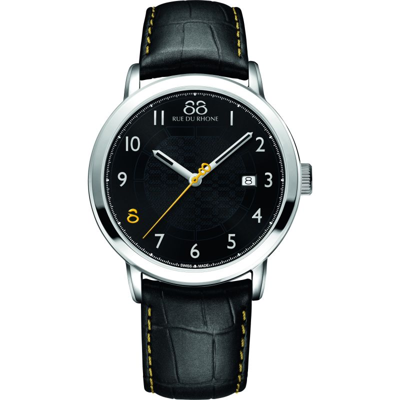 Herren 88 Rue Du Rhone Double 8 Origin 42mm Watch 87WA140020