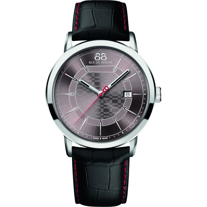 Mens 88 Rue Du Rhone Double 8 Origin 42mm Watch 87WA140026