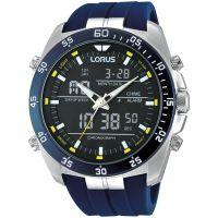 Herren Lorus Alarm Chronograph Watch RW617AX9