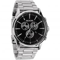 Nixon The Sentry Chrono Herenchronograaf Zilver A386-000