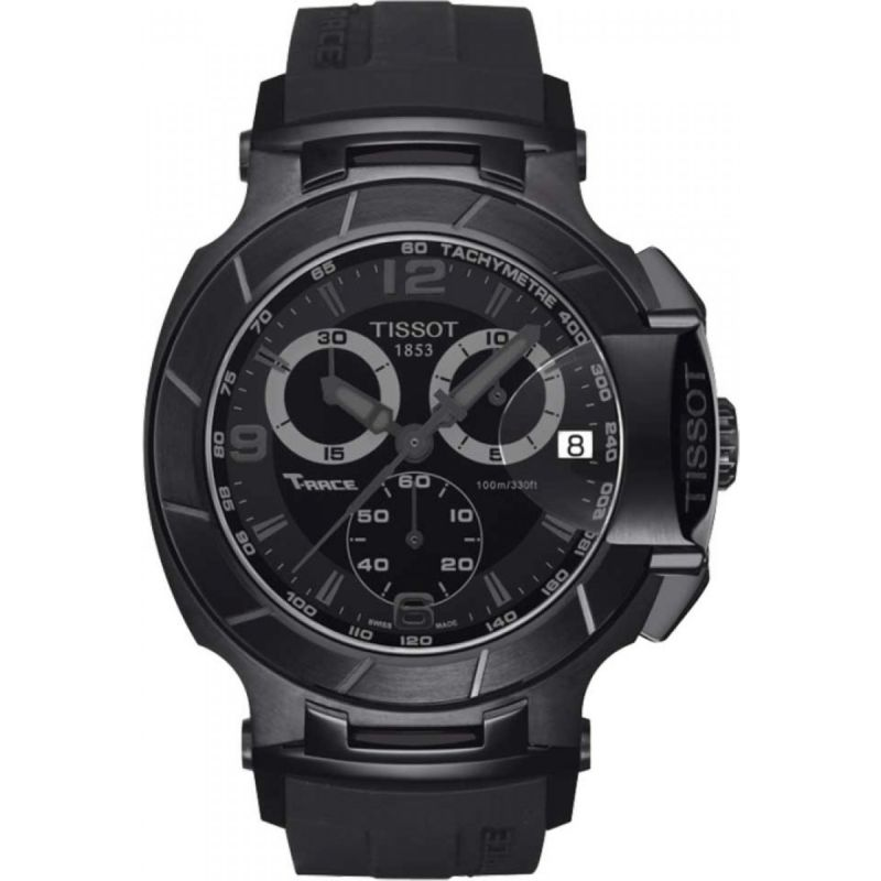 Herren Tissot T-Race Chronograph Watch T0484173705700