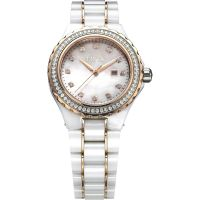 Ladies FIYTA Eternity Ceramic Watch L980.WWWD