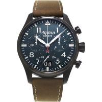 Herren Alpina Startimer Pilot Chronograf Uhr