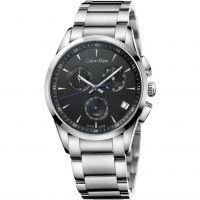 Herren Calvin Klein neu Bold Chronograf Uhr