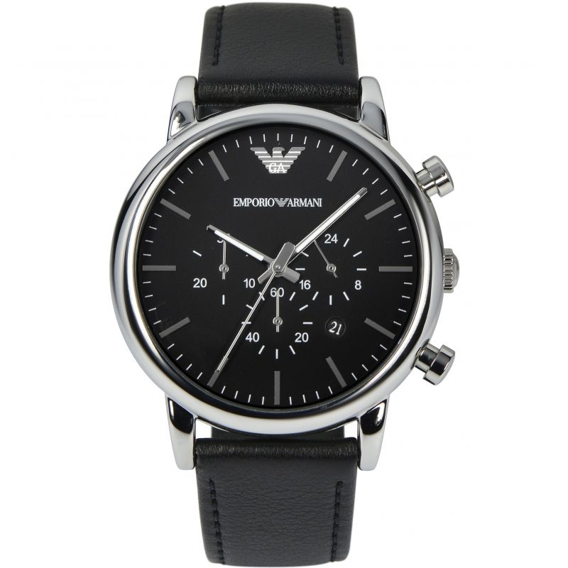 homme Emporio Armani Chronograph Watch AR1828