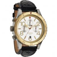 Reloj Cronógrafo para Hombre Nixon The 48-20 Chrono Leather A363-1884