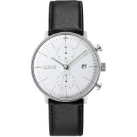 homme Junghans Max Bill Chronoscope Chronograph Watch 027/4600.00