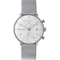 homme Junghans Max Bill Chronoscope Chronograph Watch 027/4003.44
