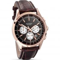 Herren Sekonda Midnight Chronograph Watch 3413