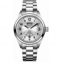 Mens Hamilton Khaki Field Day-Date Automatic Watch