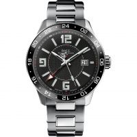 Ball Engineer Master II Pilot GMT Herrklocka Silver GM3090C-SAJ-BK