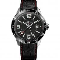 Herren Ball Engineer Master II Pilot GMT Watch GM3090C-LLAJ-BK