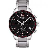 Herren Tissot Quickster Chronograph Watch T0954171105700