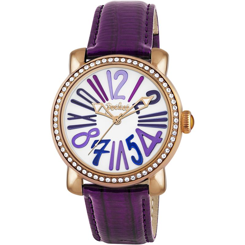Ladies Pocket-Watch Rond Crystal Medio Watch PK2016