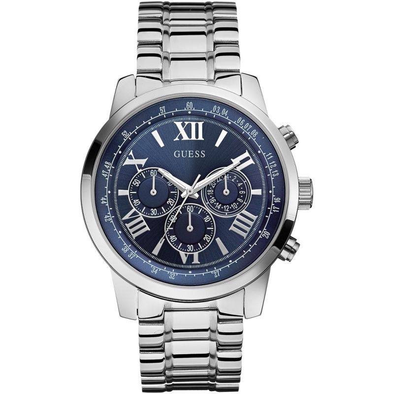homme Guess Horizon Chronograph Watch W0379G3