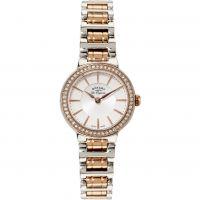 Damen Rotary Schweizer hergestellt Lucerne Petite Quarz Uhr