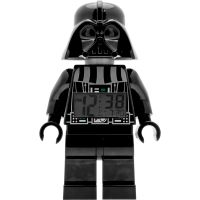 LEGO Star Wars Darth Vader Clock Klokhorloge Zwart 9002113
