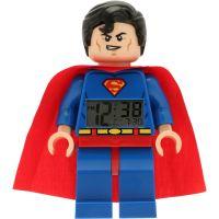 LEGO DC Super Heroes Superman Wecker Uhr