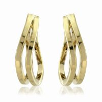 Jewellery Twisted Hoop Earrings Watch ER779
