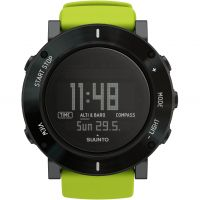 Herren Suunto Core Crush Lime Chronograph Watch SS020693000