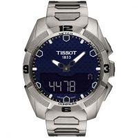 Herren Tissot T-Touch solar Titan Chronograf solarbetrieben Uhr