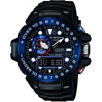 Mens Casio G-Shock Premium Gulfmaster Alarm Chronograph Radio Controlled Watch