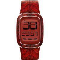 unisexe Swatch Touch Alarm Chronograph Watch SURW111