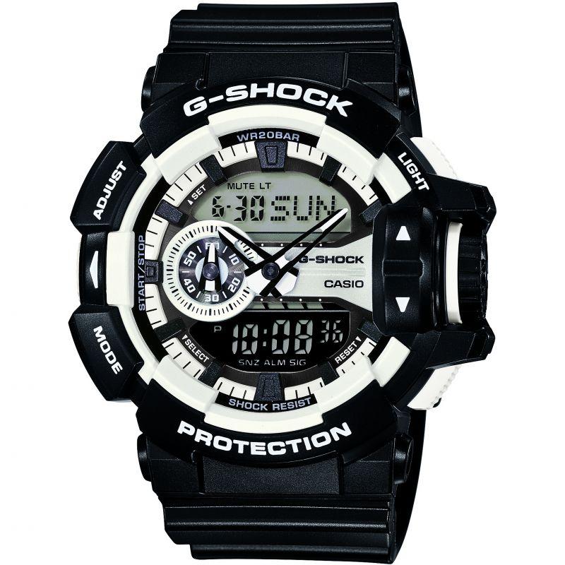 homme Casio G-Shock Alarm Chronograph Watch GA-400-1AER