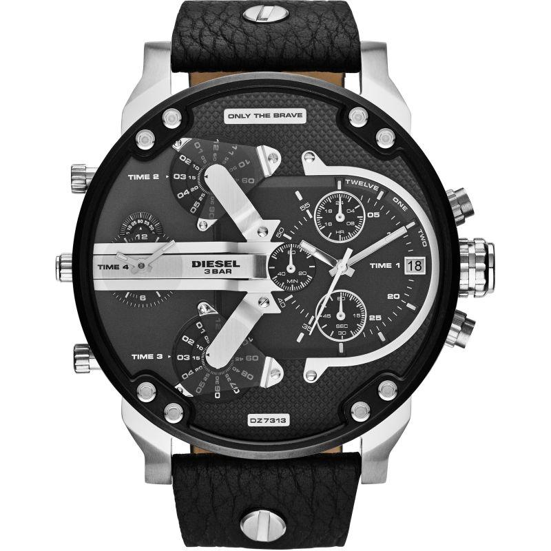 homme Diesel The Daddies Chronograph Watch DZ7313