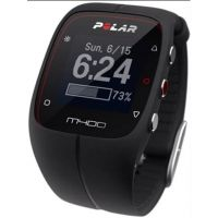Unisex Polar M400 Bluetooth GPS Activity Tracker Heart Rate Bundle Alarm Chronograph Watch